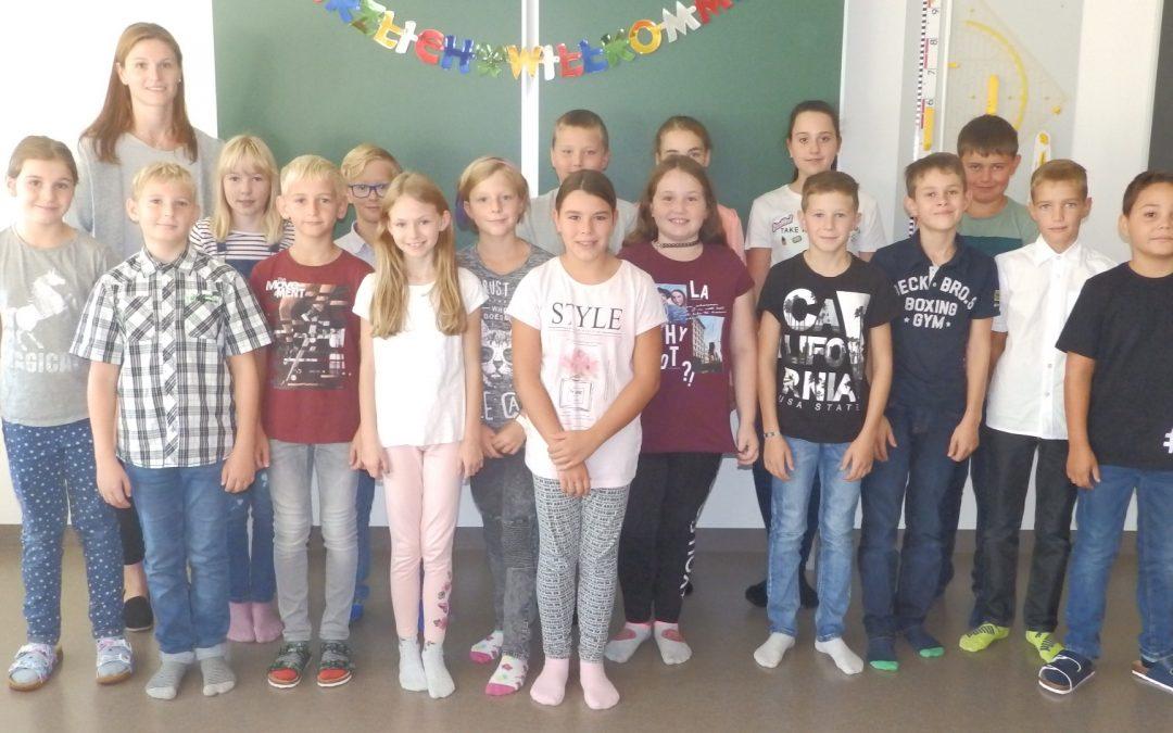 Schulbeginn in der NMS St. Agatha