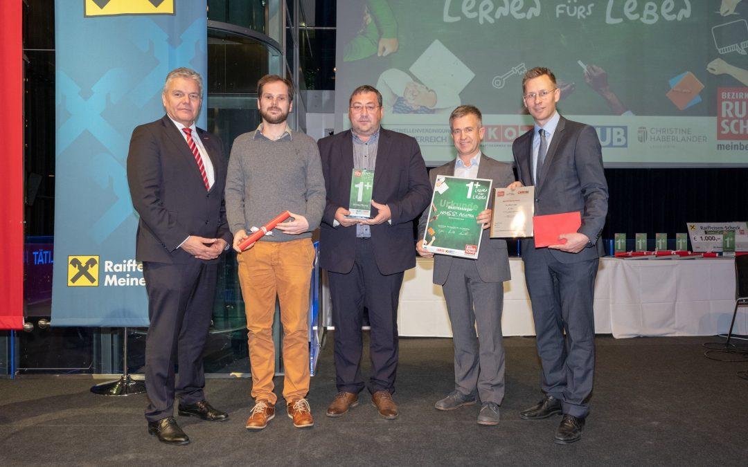 Ehrung für tolles Erasmus-Projekt
