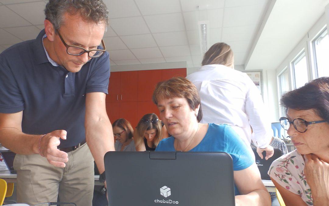 Neue Computer für die Lehrer/innen