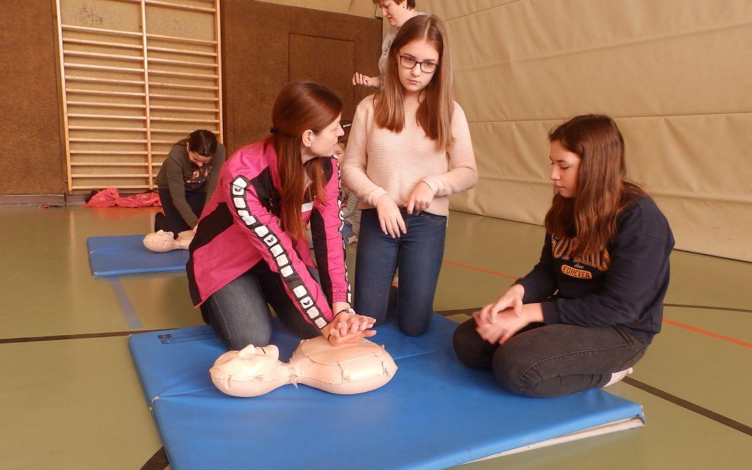 Schüler retten Leben