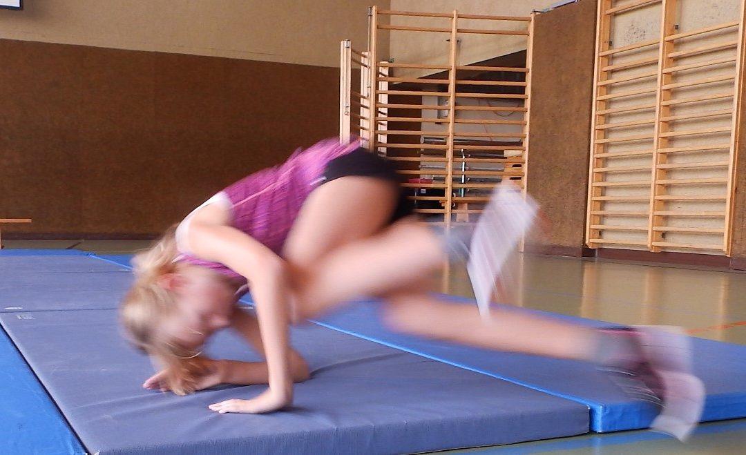 Sicheres Fallen – ein Training der AUVA