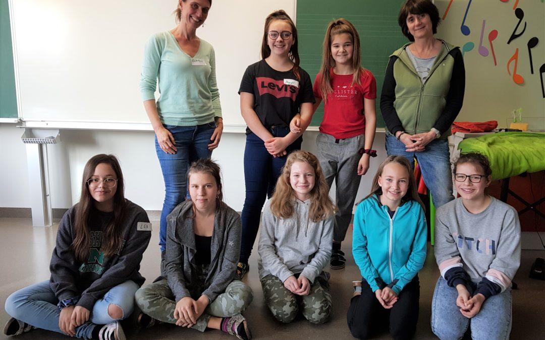 3a, 4a, 4b: Workshop für Mädchen zur Gewaltprävention