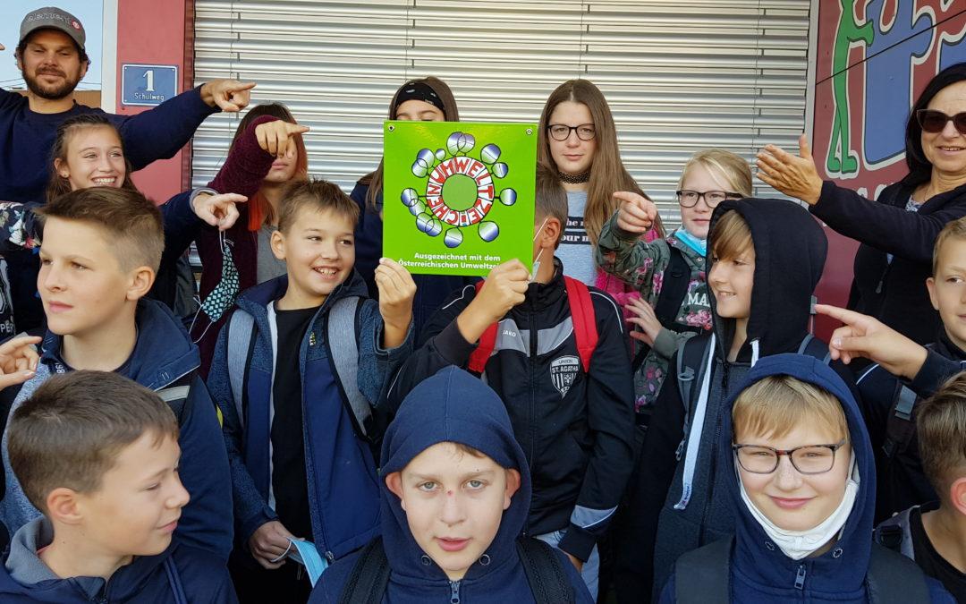 MS St. Agatha – die erste Umweltzeichenschule im Bezirk