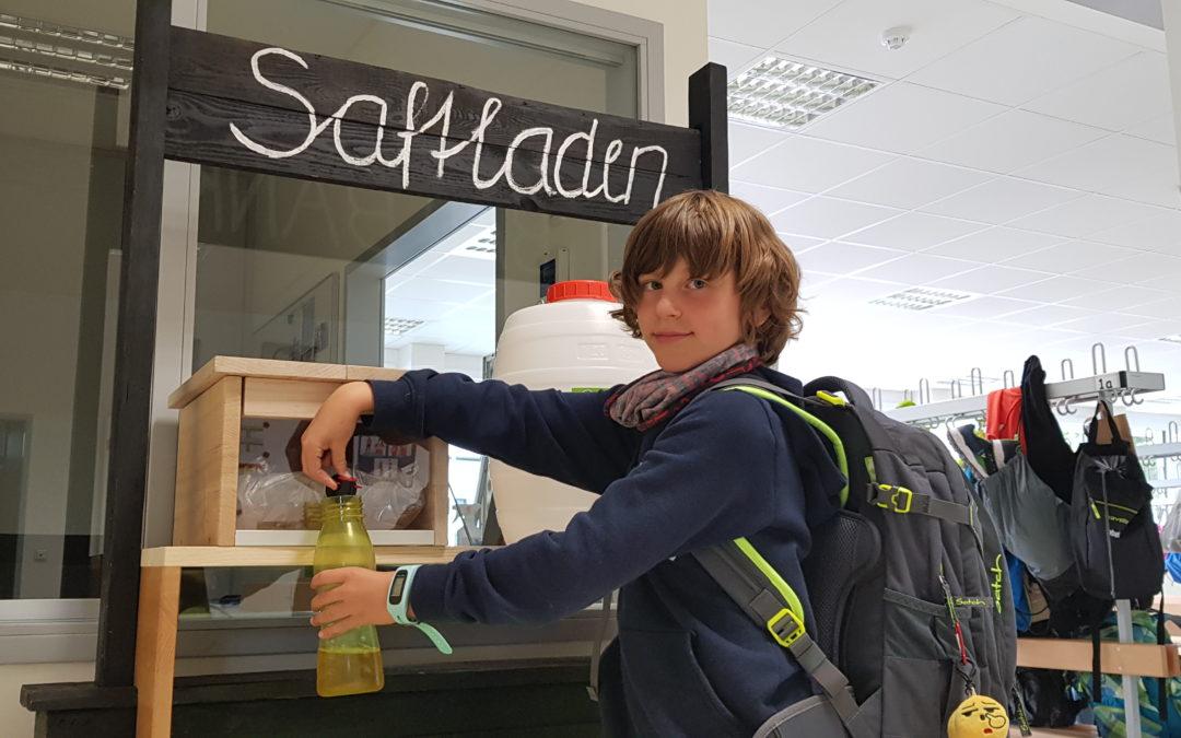"""Projekt """"Saftladen"""" – Gesunder Saft aus Birnen und Äpfel"""